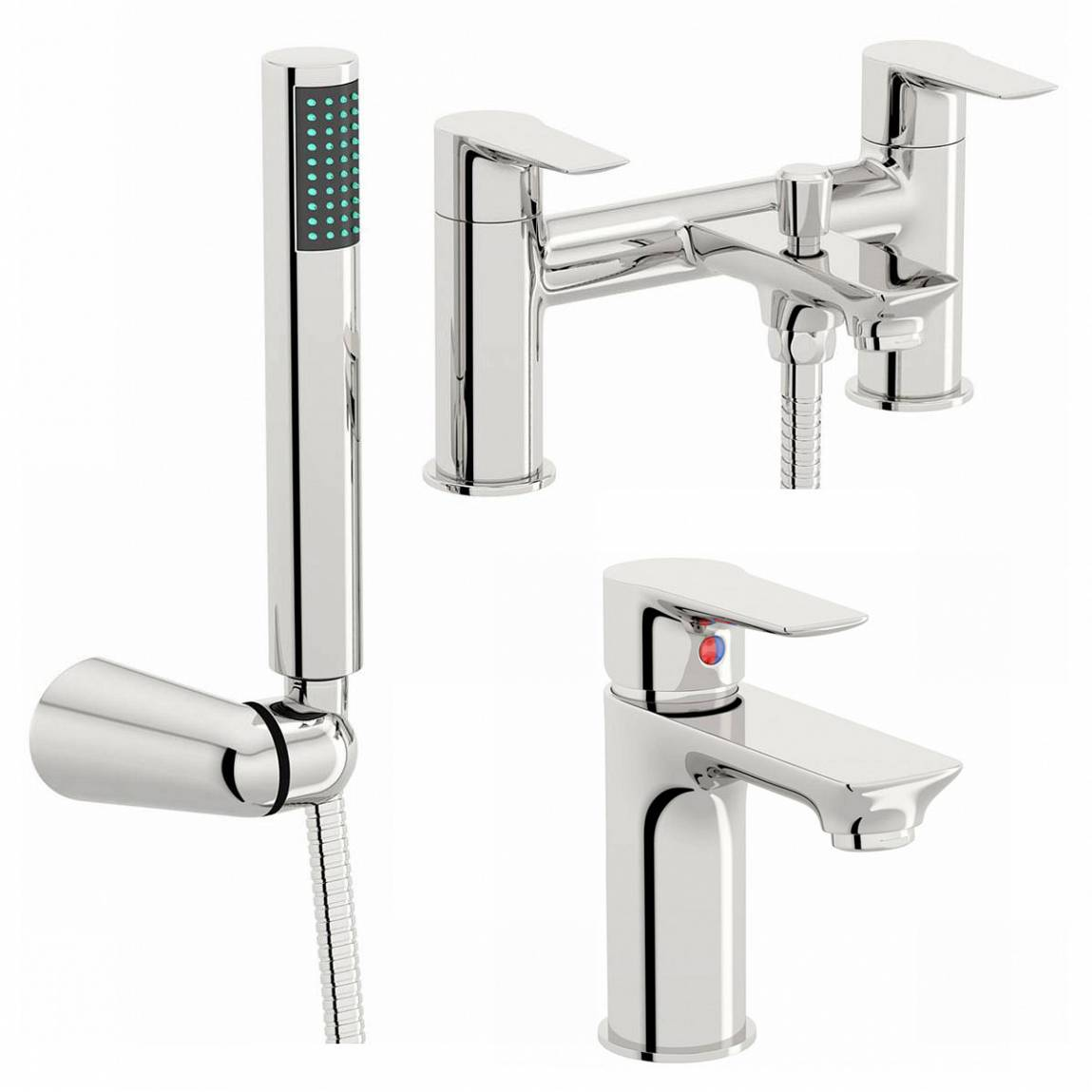 Image of Windermere Basin and Bath Shower Mixer Pack