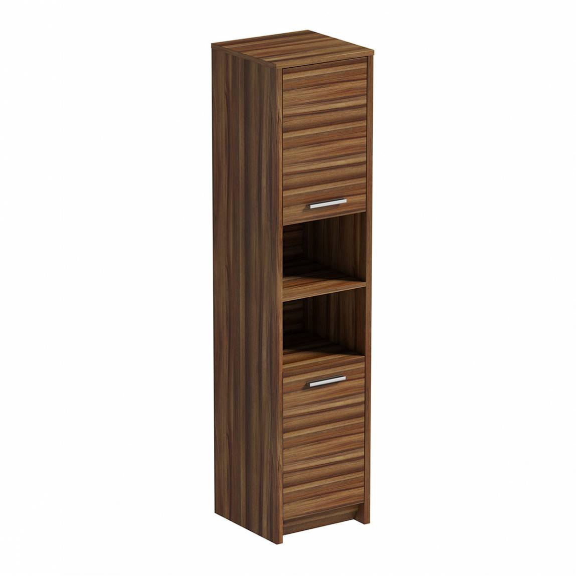 Image of Smart Walnut Tall Unit