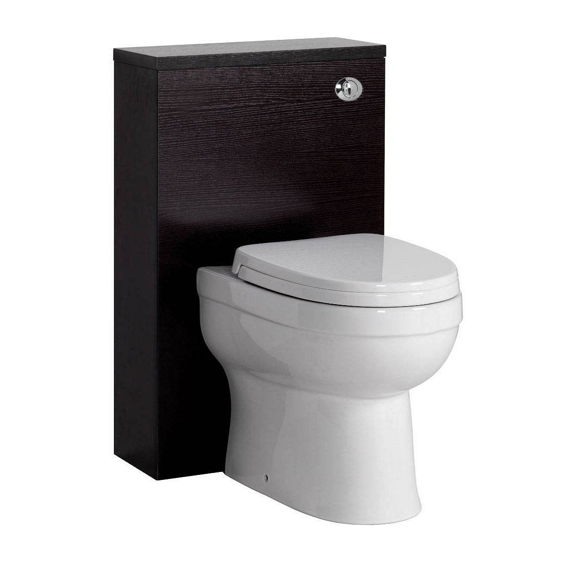 Image of Energy Back To Wall Toilet inc Seat & Slimline Wenge Unit