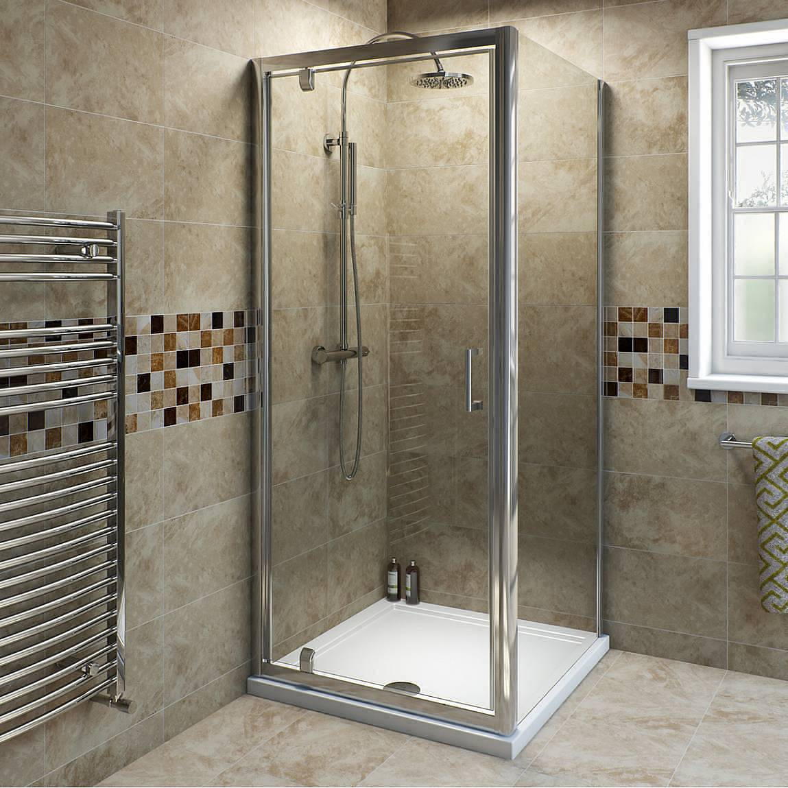 Image of V6 Pivot Shower Enclosure 900