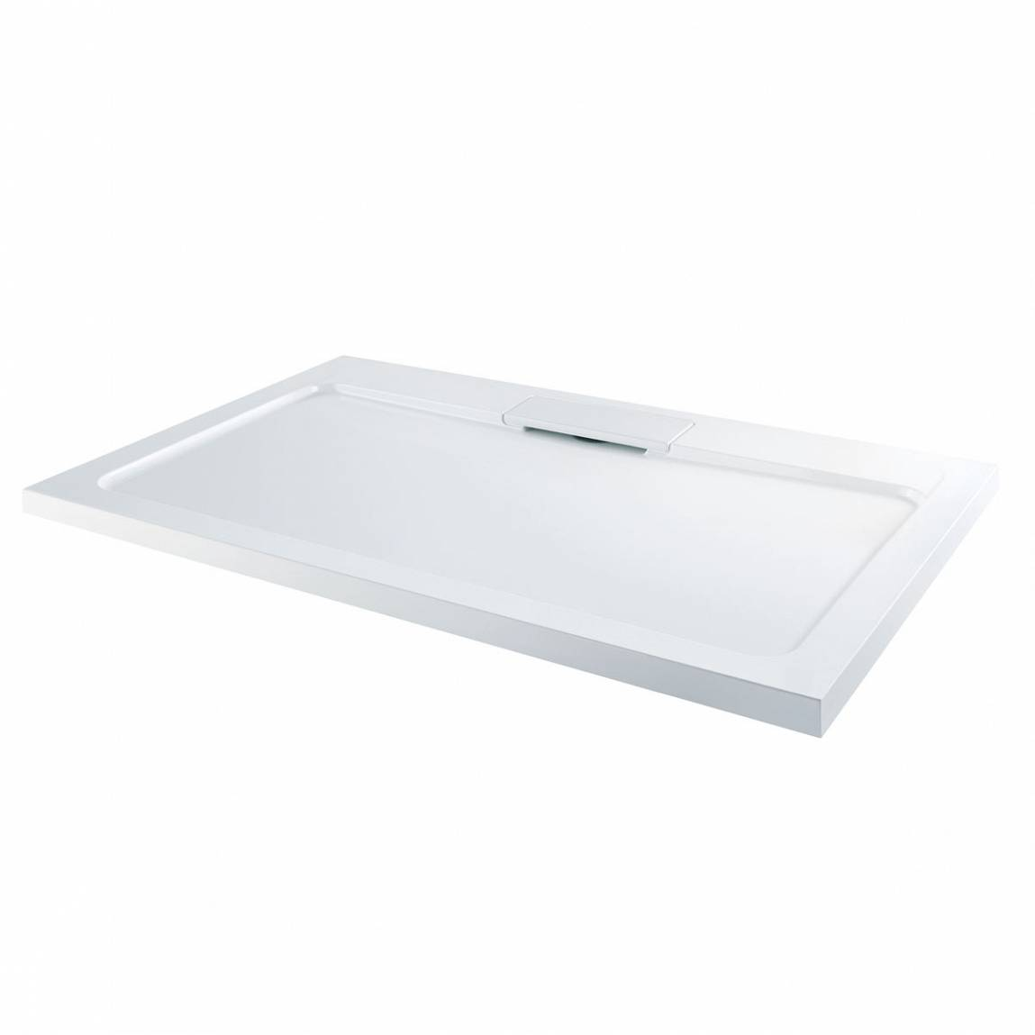 Image of Designer Rectangular Stone Shower Tray 1000 x 800
