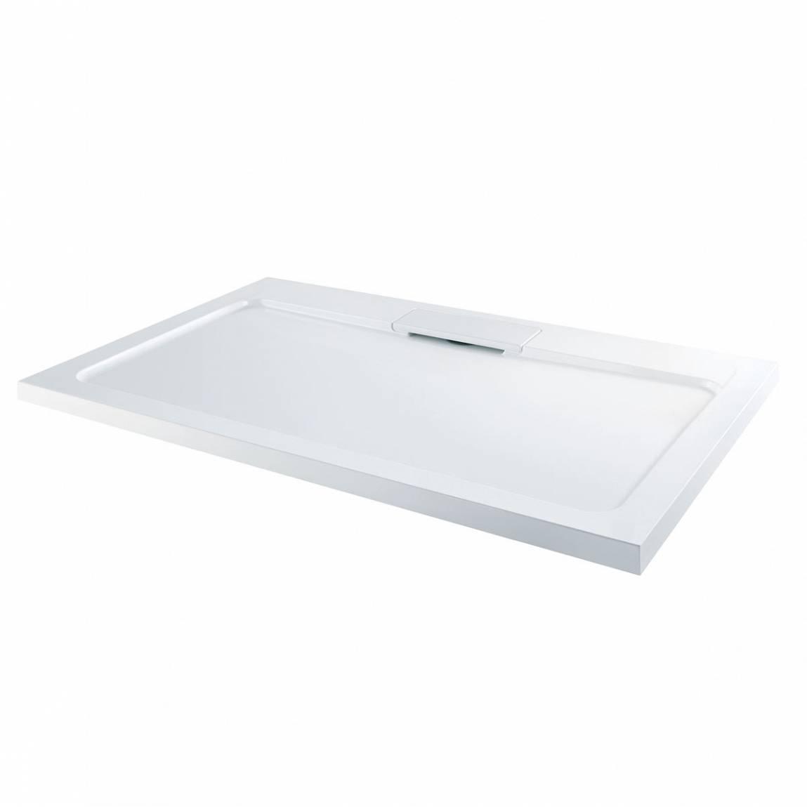 Image of Designer Rectangular Stone Shower Tray 1000 x 800